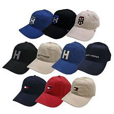 13815d360b9 Tommy Hilfiger Hat Baseball Cap Logo Unisex Mens Womens Adjustable One Size  New