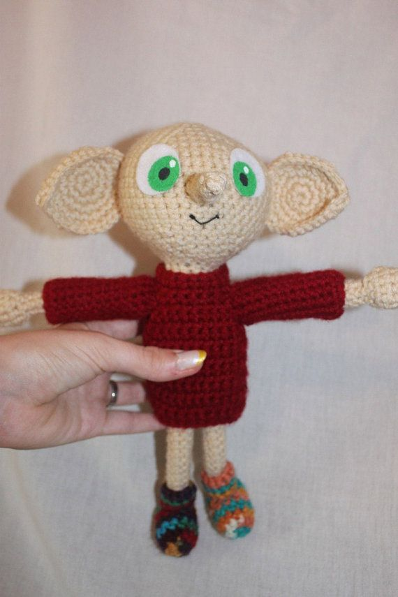 Dobby Harry Potter Amigurumi : Crochet Pattern: Dobby Amigurumi Harry Potter Patterns ...