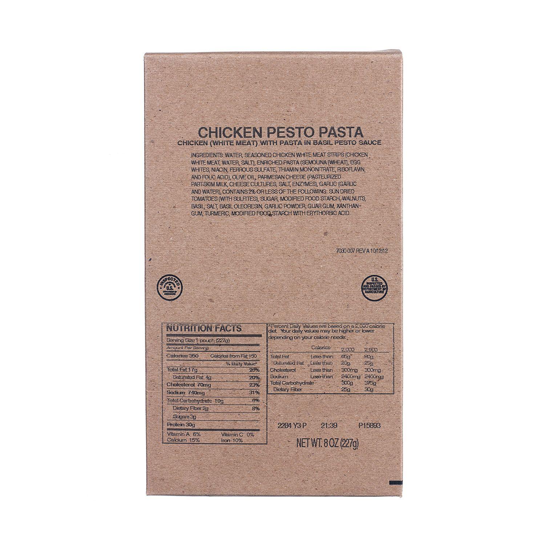 The BEST Emergency Food Storage Company! Pesto chicken