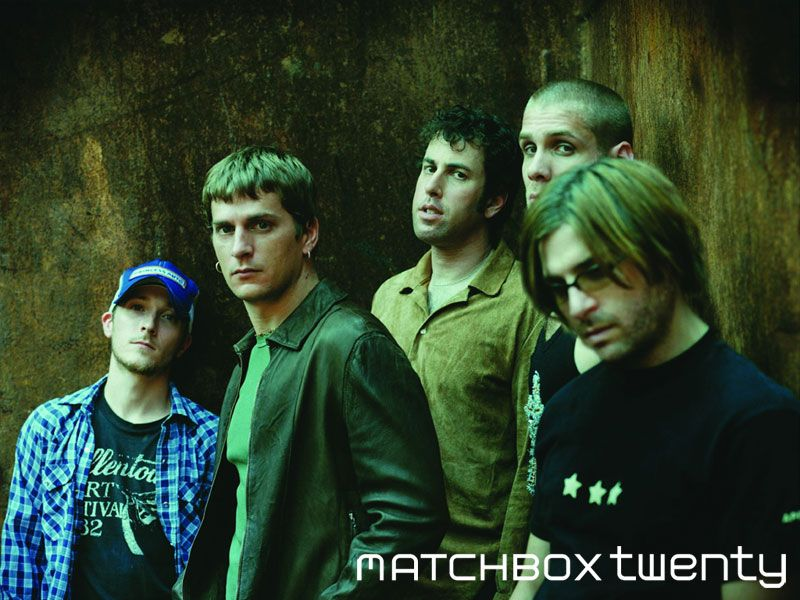 Matchbox Twenty. Rob Thomas writes great songs. Plus, he's ...