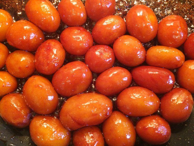 Vegansk Perfekte Brunede Kartofler - Pærelet #brunedekartofler