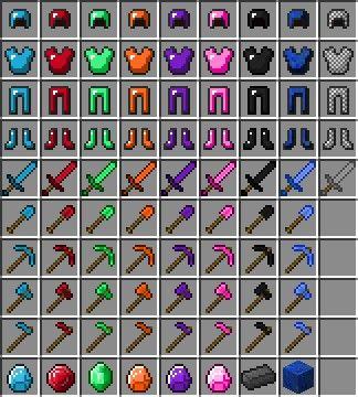 Minecraft Ruby Tools