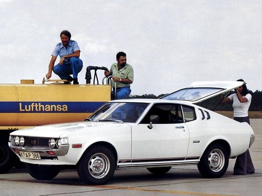 Toyota Celica 2000 GT Liftback (1976 - 1978). (My wish for a classic project car)