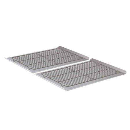 Calphalon Nonstick Bakeware Cookie Sheet And Cooling Rack Set 4