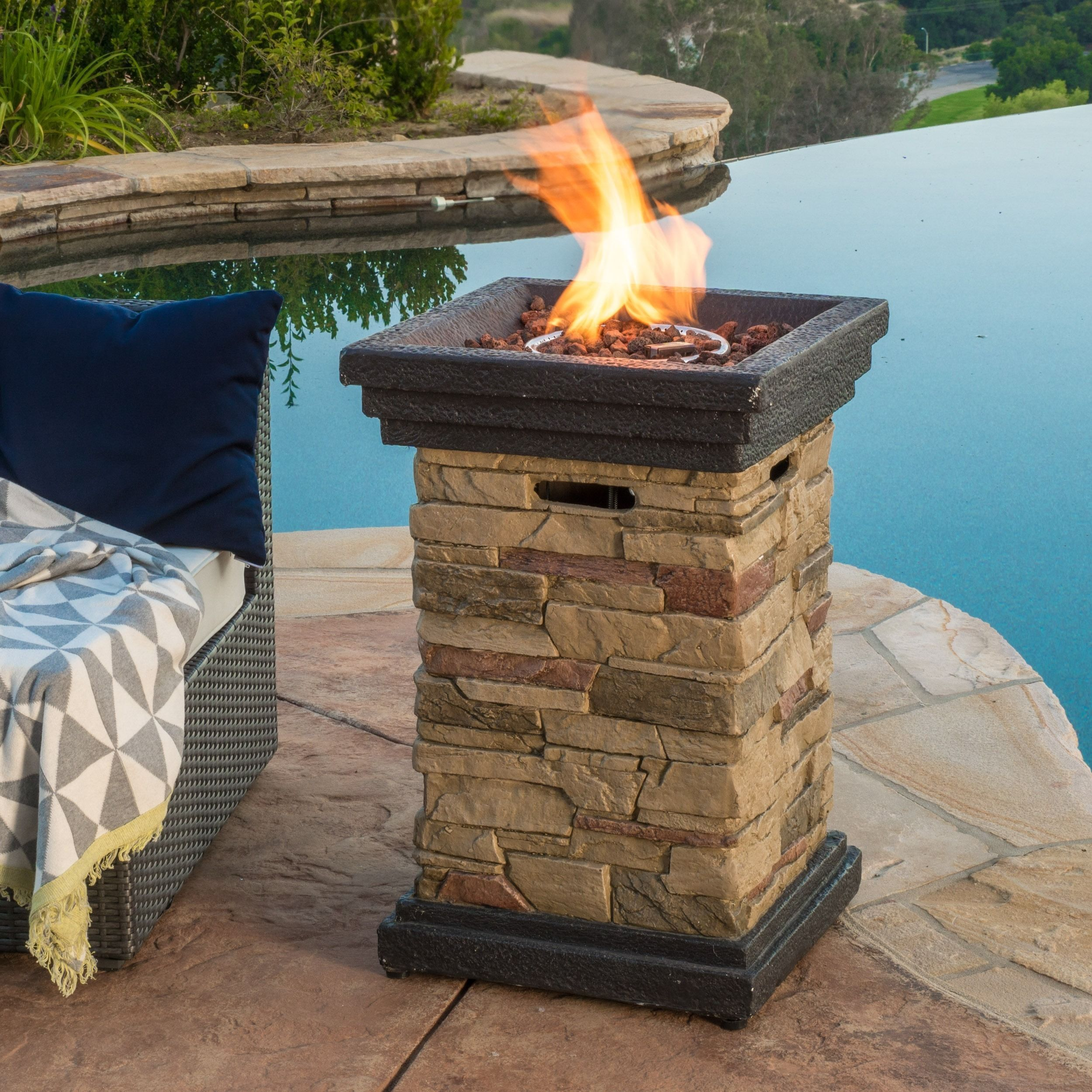 fabulous tricks can change your life rock fire pit night fire pit