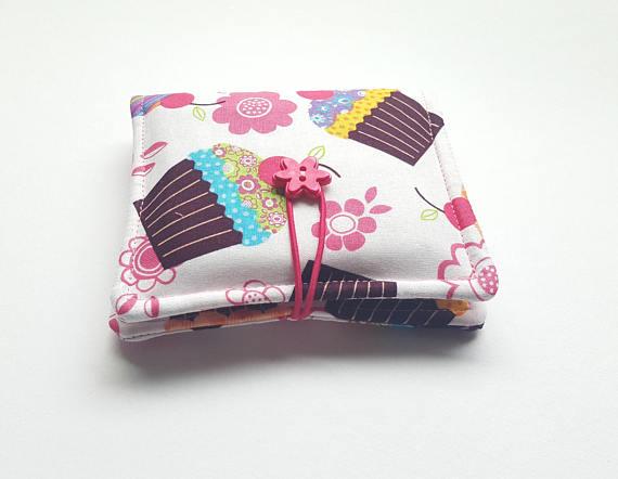 cupcake feminine hygiene bag  d38b9bb9a1445