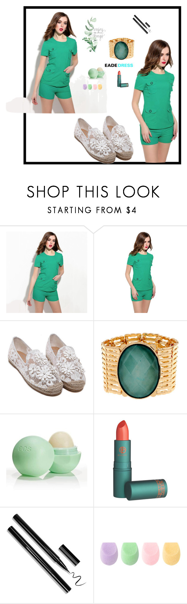 """""""#  EadeDress # 28"""" by deyanafashion ❤ liked on Polyvore featuring Eos"""