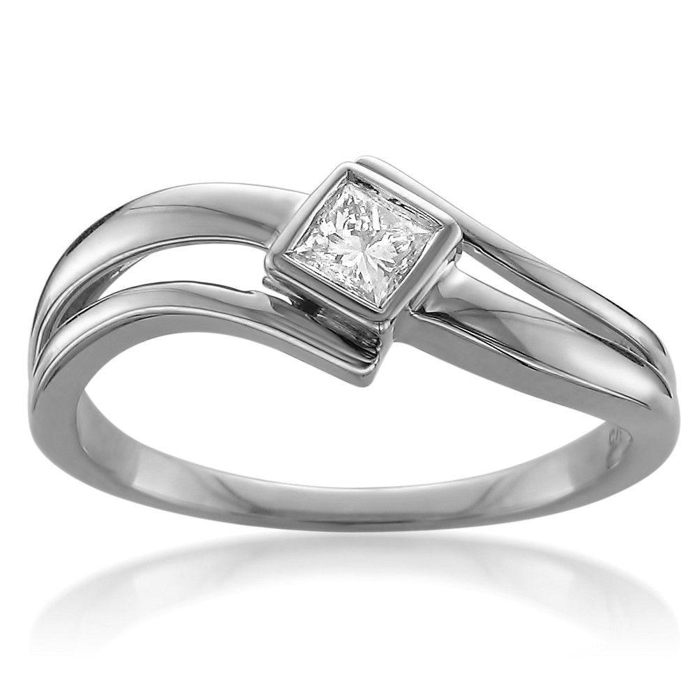 42++ Princess cut diamond wedding bands white gold information