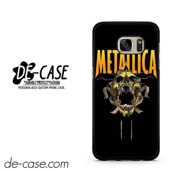 Metallica Skull DEAL-7104 Samsung Phonecase Cover For Samsung Galaxy S7 / S7 Edge
