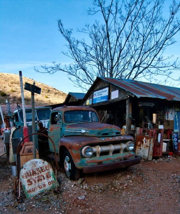 Junk Yard At The Gold King Mine