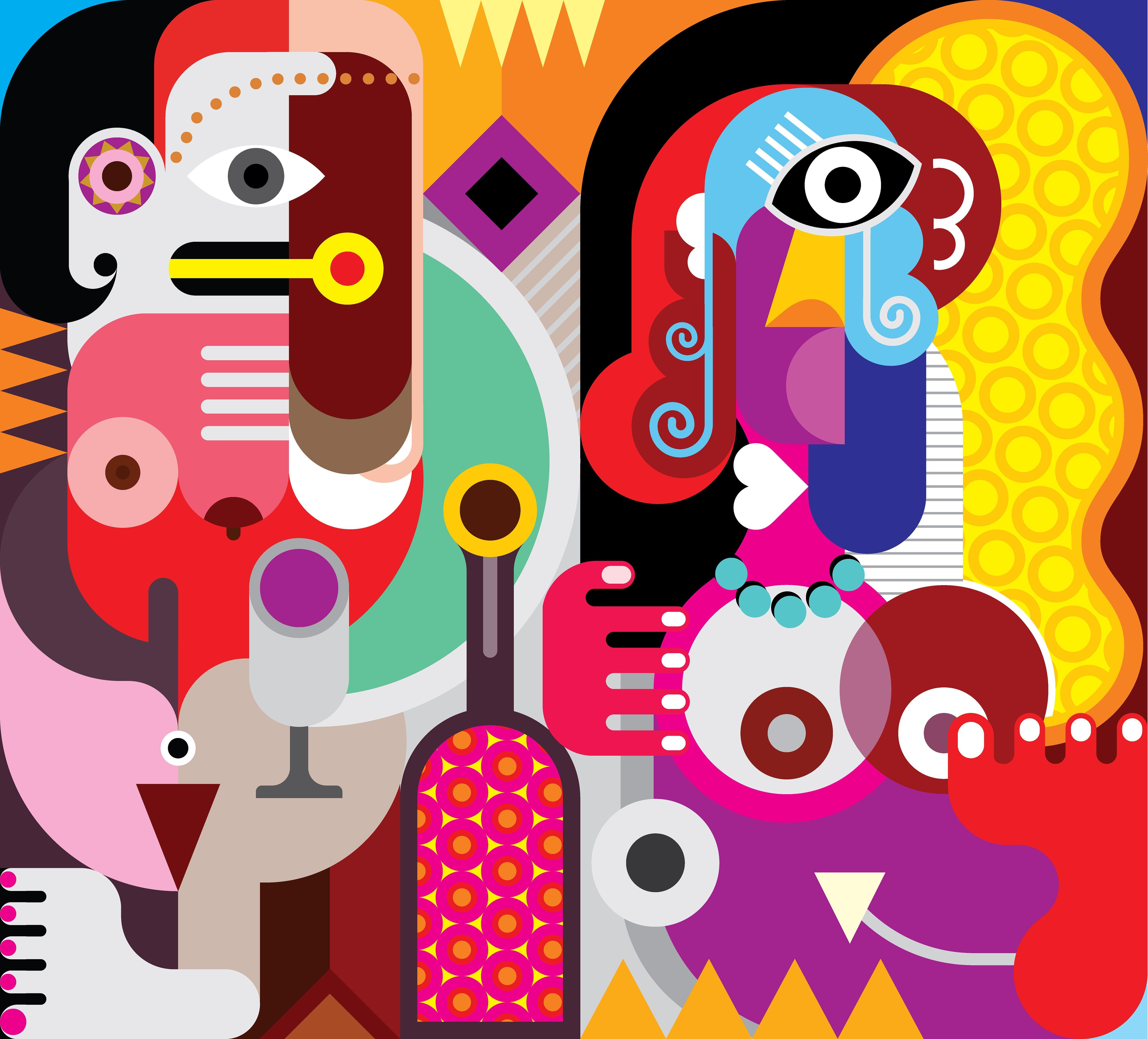 abstract art, art movement, fine art, art critics, visual