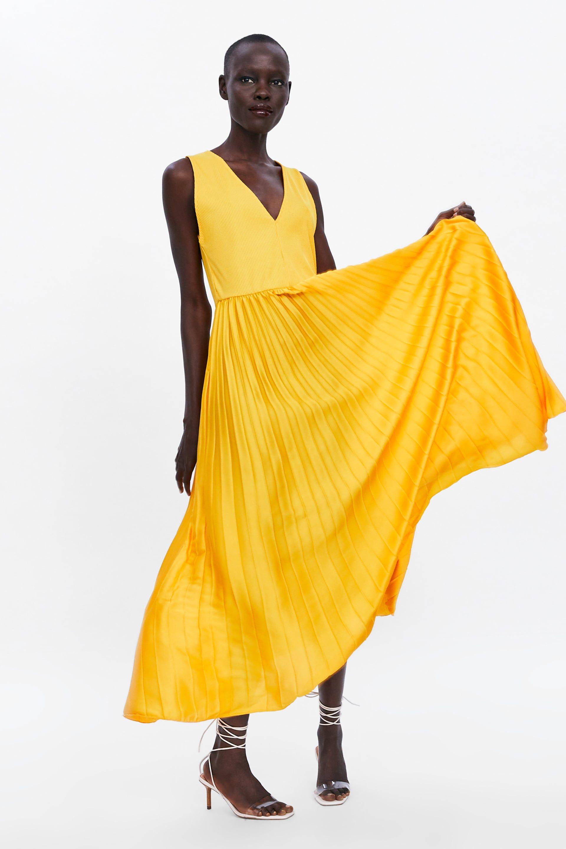 kombiniertes plissÉe - kleid-alles anzeigen-dress time-damen