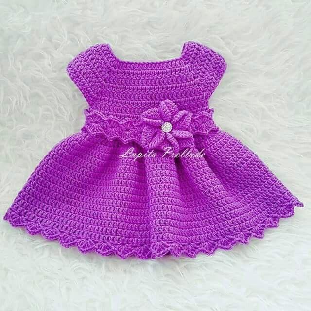 Vestido | baby | Pinterest | Vestiditos, Bebé y Bebe