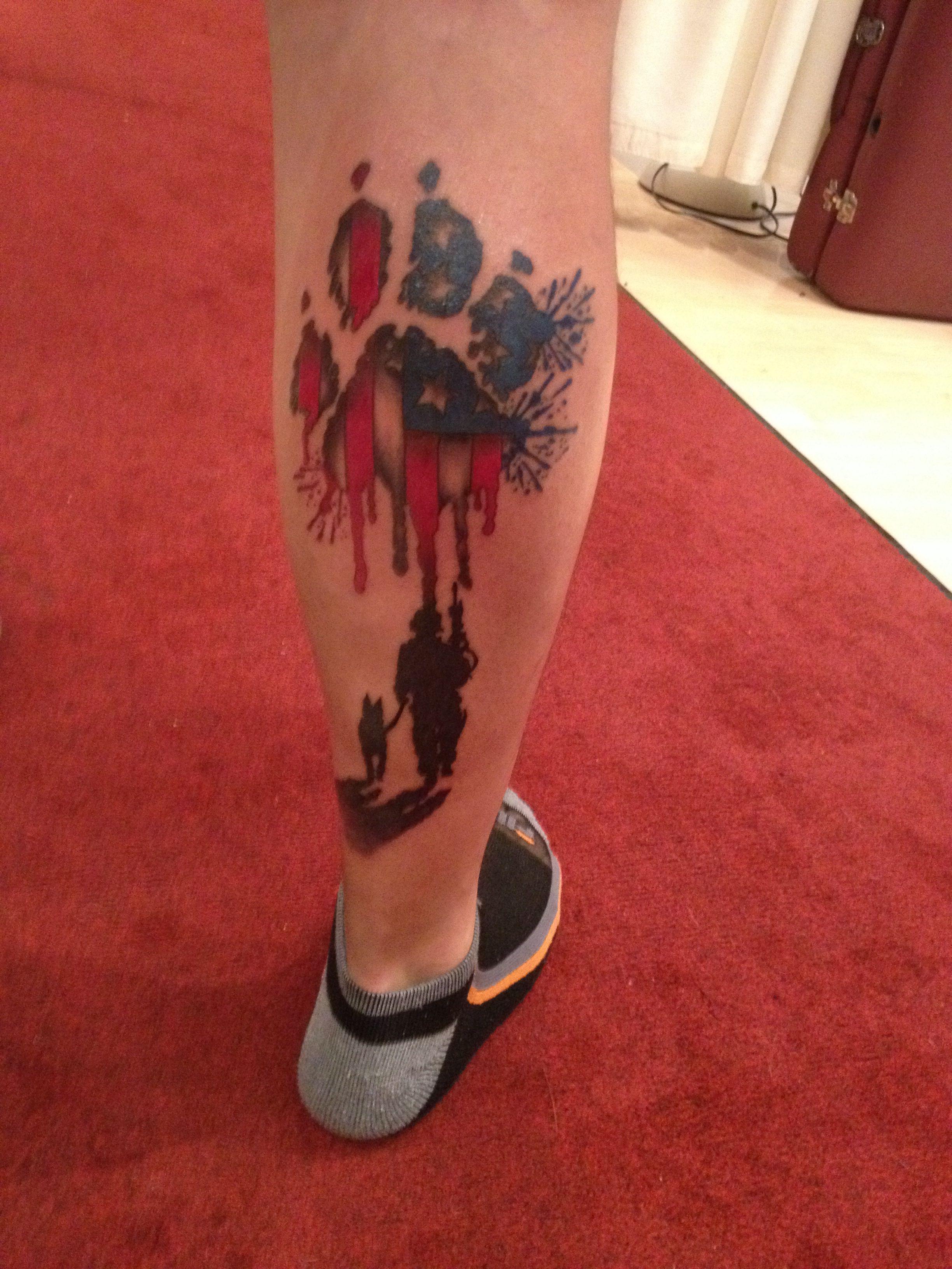 Mans Military K9 Handler Tattoo Love This Epic Tattoo Tattoos Skull Tattoo