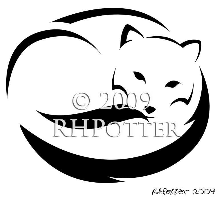 Arctic Fox Ii By Rhpotter Deviantart Com On Deviantart Fox Tattoo Tattoo Designs Fox Silhouette