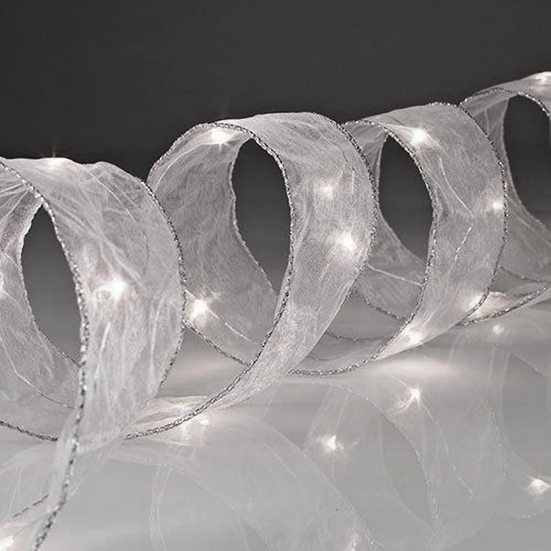 10ft 30 Led 1 5 Wide Flat Mesh Ribbon Sequential Led Lights In 2020 Mesh Ribbon White Lead Led Lights