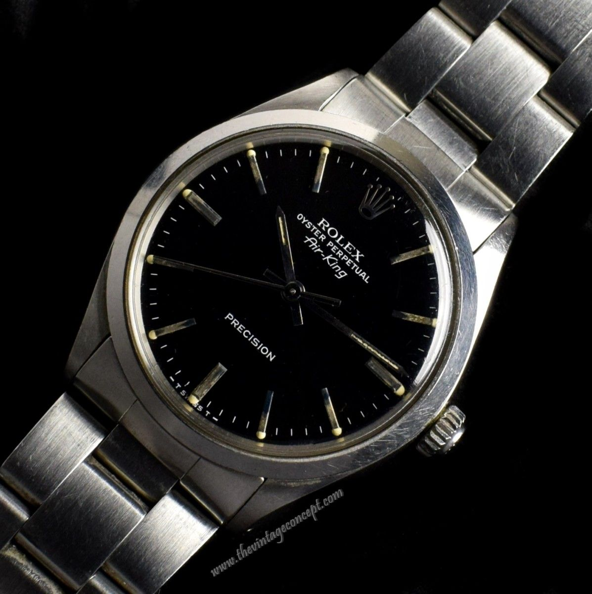 Rolex Air King Black Dial 5500 (SOLD)