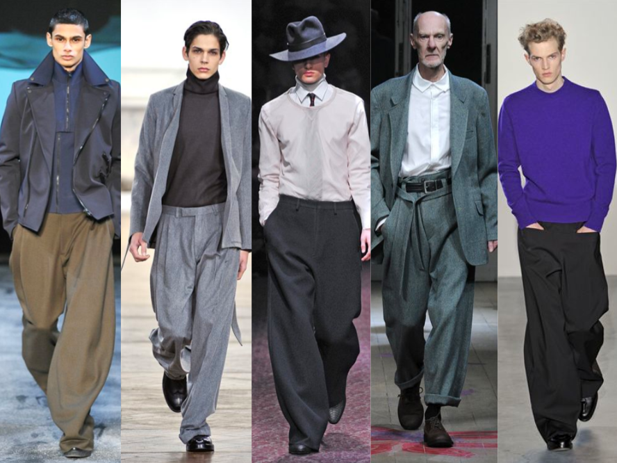 wide leg pants for men - Google Search | Flaneur | Pinterest ...