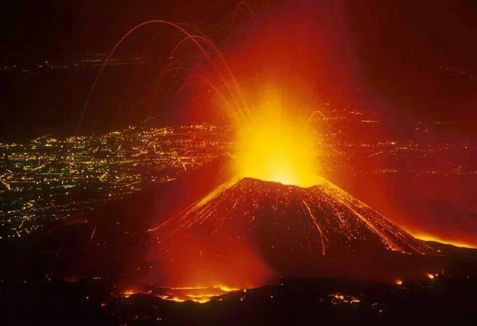 Mt Etna Sicily. My grandfather qas born in a little town below this volcano!