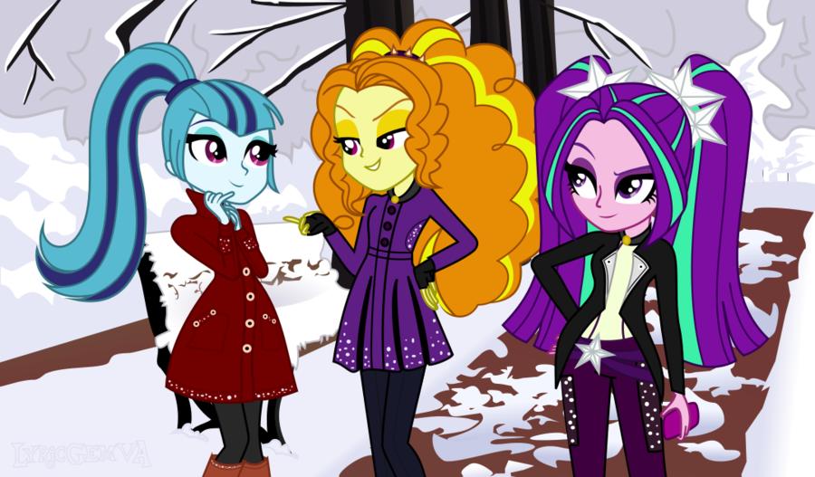 [EQ: RR] Dazzling Holidays - Winter | PART. 1 by LyricGemVA on DeviantArt