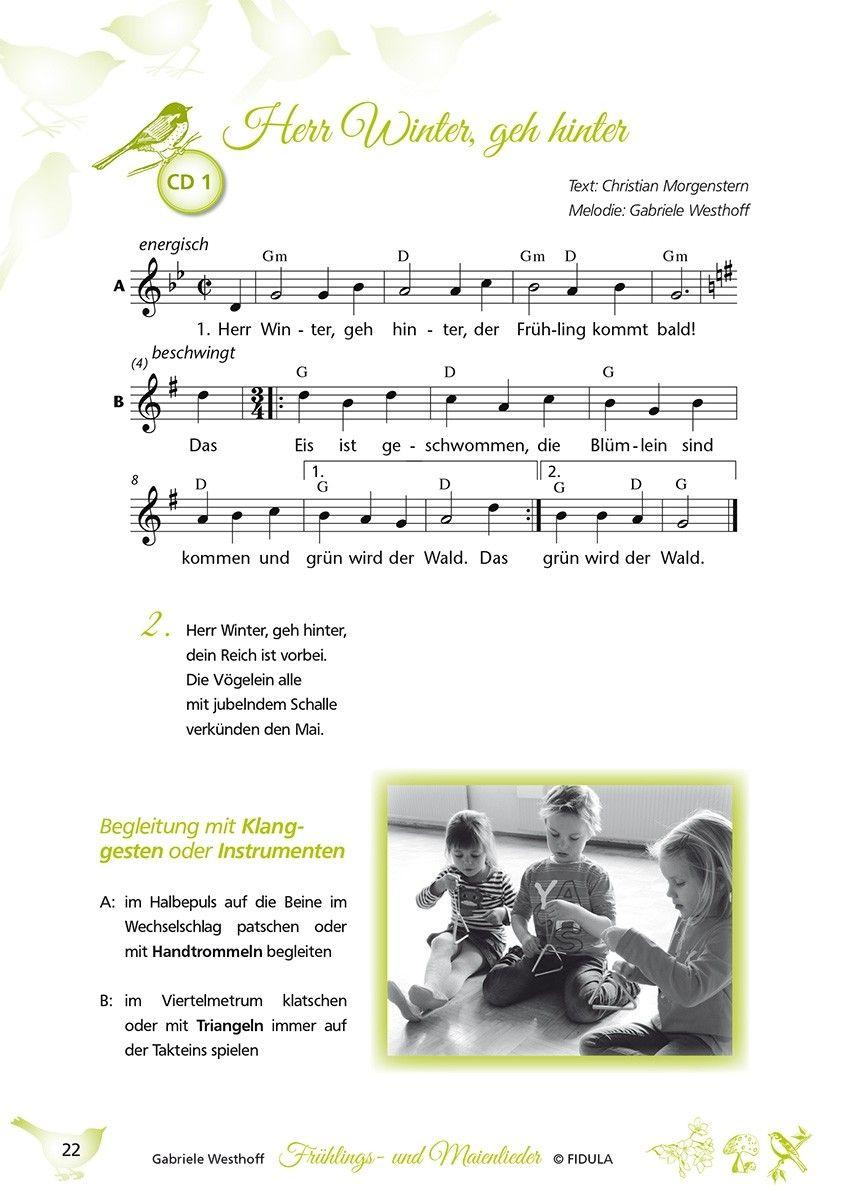 Singspiele Kindergarten