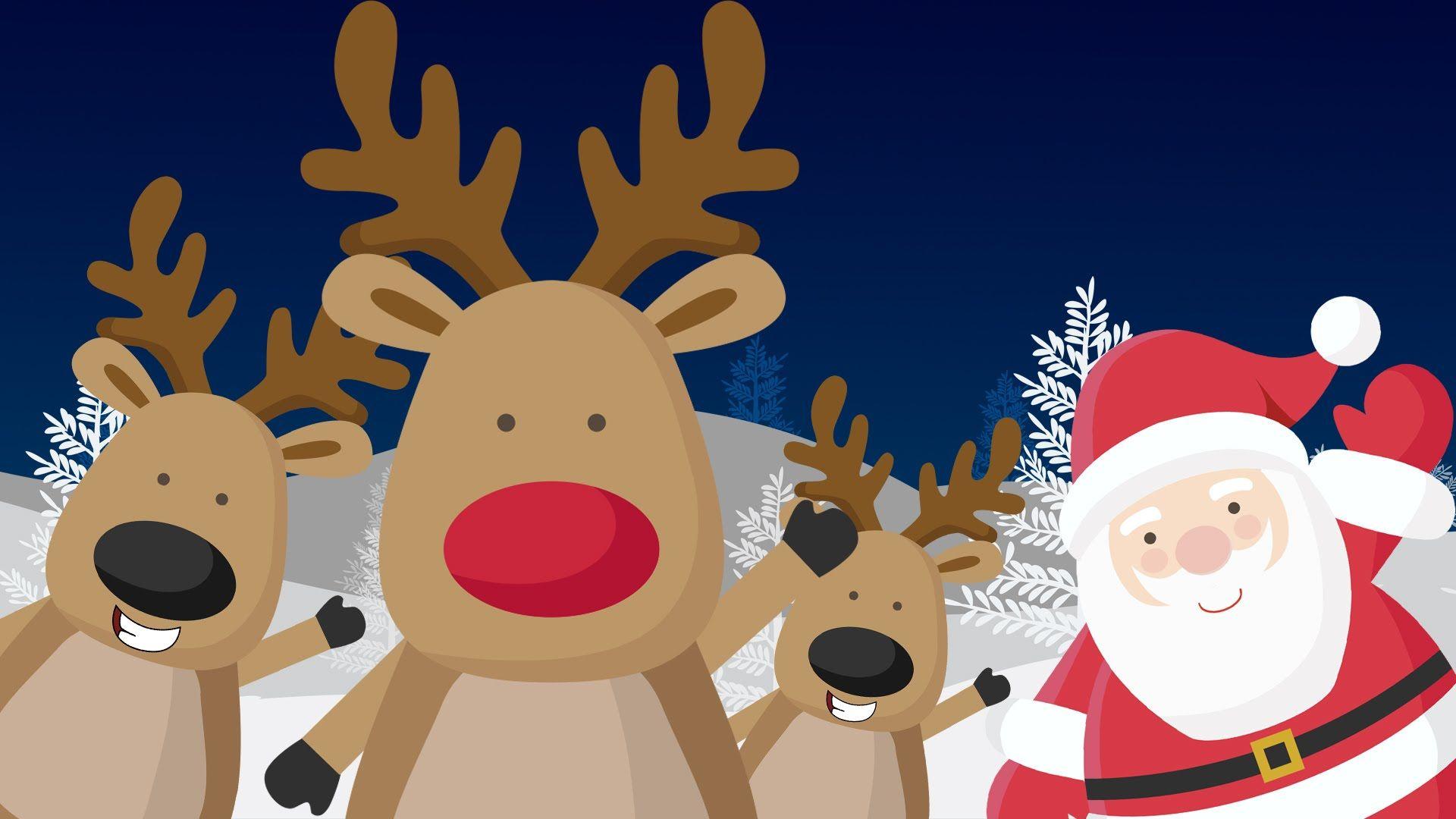 Rudolf El Reno Cuentos De Navidad Cuentos Cortos Para Ninos Spanish Videos Navidad Coloring Pages
