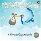 Baby's First Year Undated Wall Calendar | Baby | CALENDARS.COM