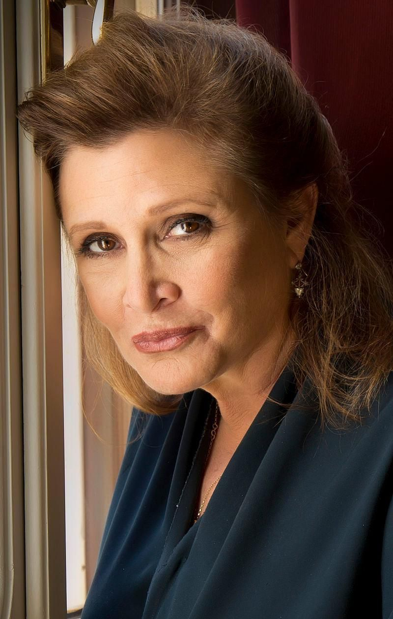 Star Wars star Carrie Fisher speaks out about aging and beauty. (Photo: Riccardo Ghilardi)