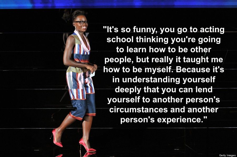 7 Times Lupita Nyong O Challenged Us To Think Bigger Black Quotes Inspirational People Best Inspirational Quotes