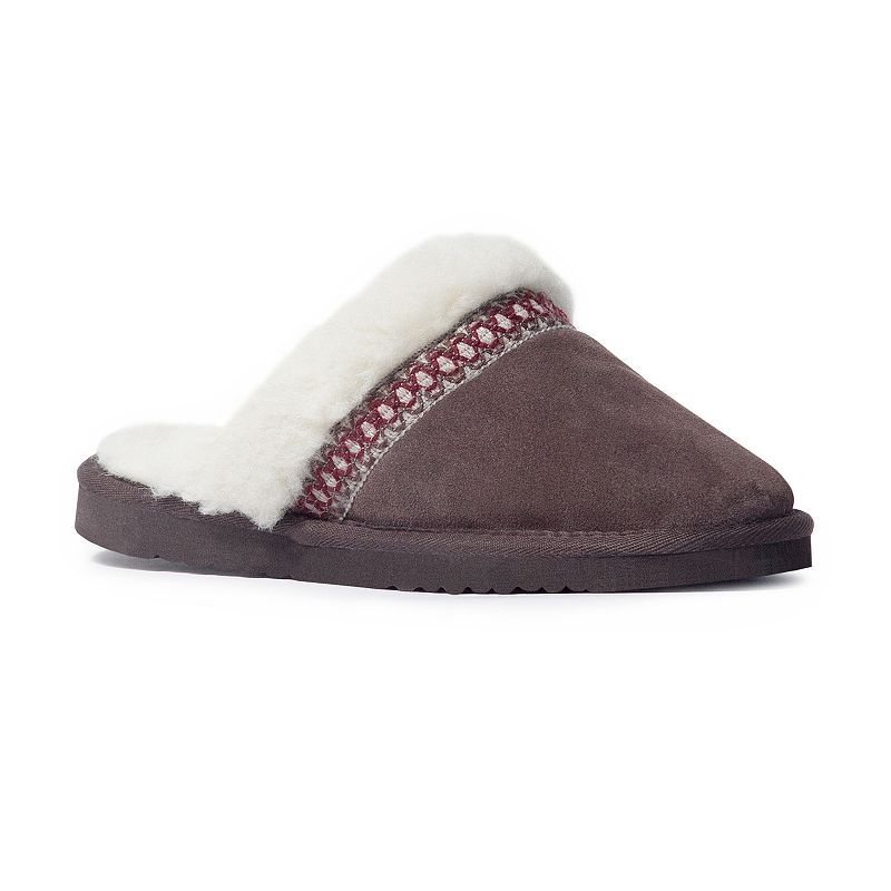 MUK LUKS Dawn Women's Suede Scuff Slippers, Size: