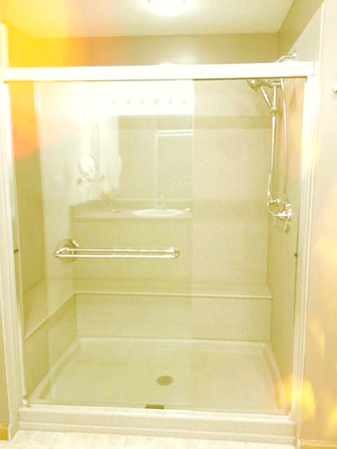 Still Using A Shower Curtain And A Slippery Tub? You Are Setting Yourself  Up For
