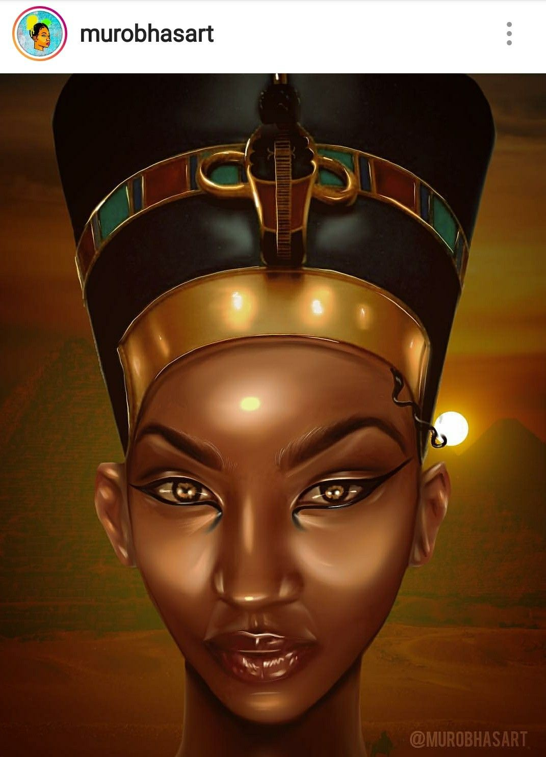 Nefertiti The Real True Nubian Goddess Afrocentric Art Black Women Art Black Love Art