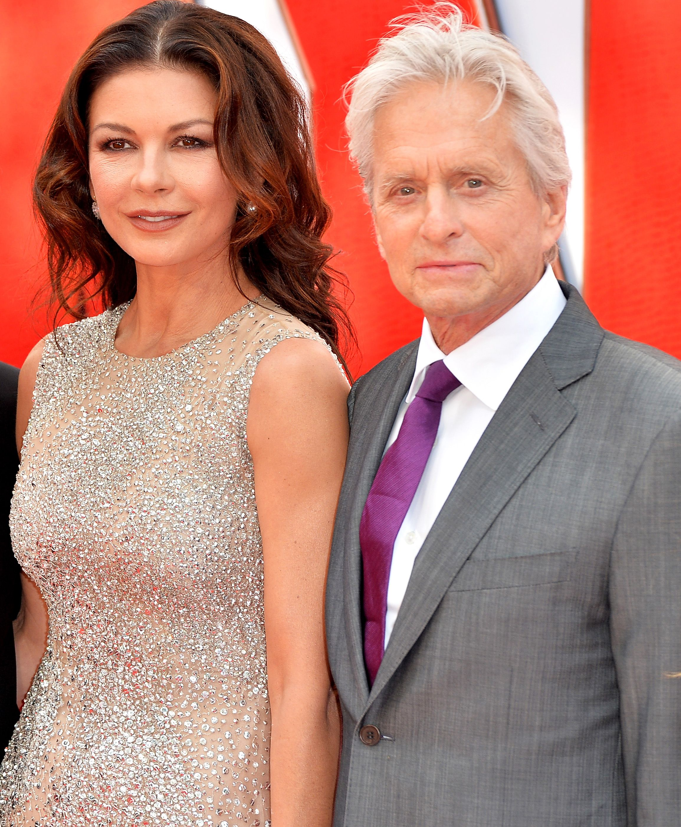 Catherine Zeta-Jones Gives Husband Michael Douglas A Sweet