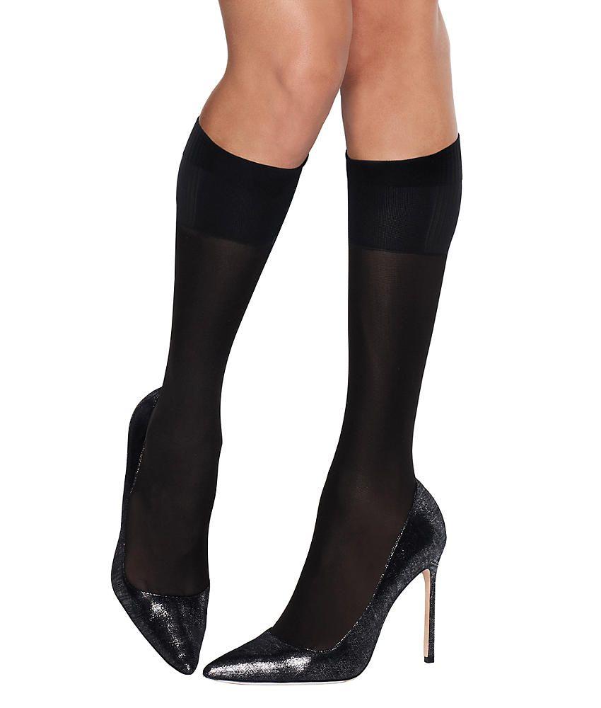 13286e59e Hanes X-Temp Perfect Knee Highs 2-Pack Hosiery - Women s Perfect ...