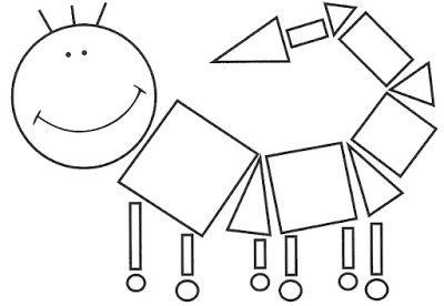 Figuras Geometricas En Formas De Dibujos Actividades Y Fichas Para