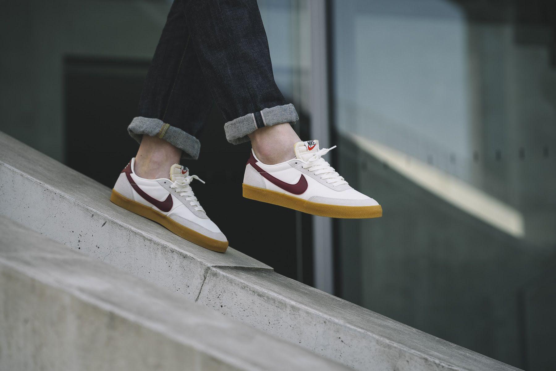 Nike Killshot in Sail \u0026 Burgundy for