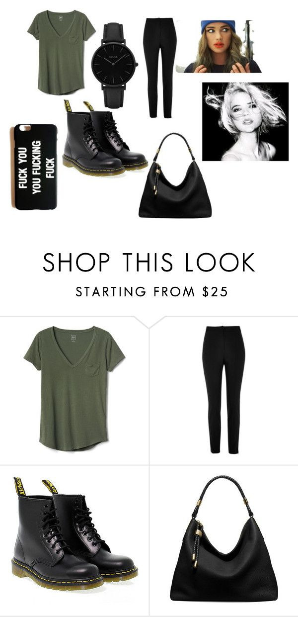"""""""no type"""" by july162003 on Polyvore featuring Gap, River Island, Dr. Martens, Michael Kors and CLUSE"""