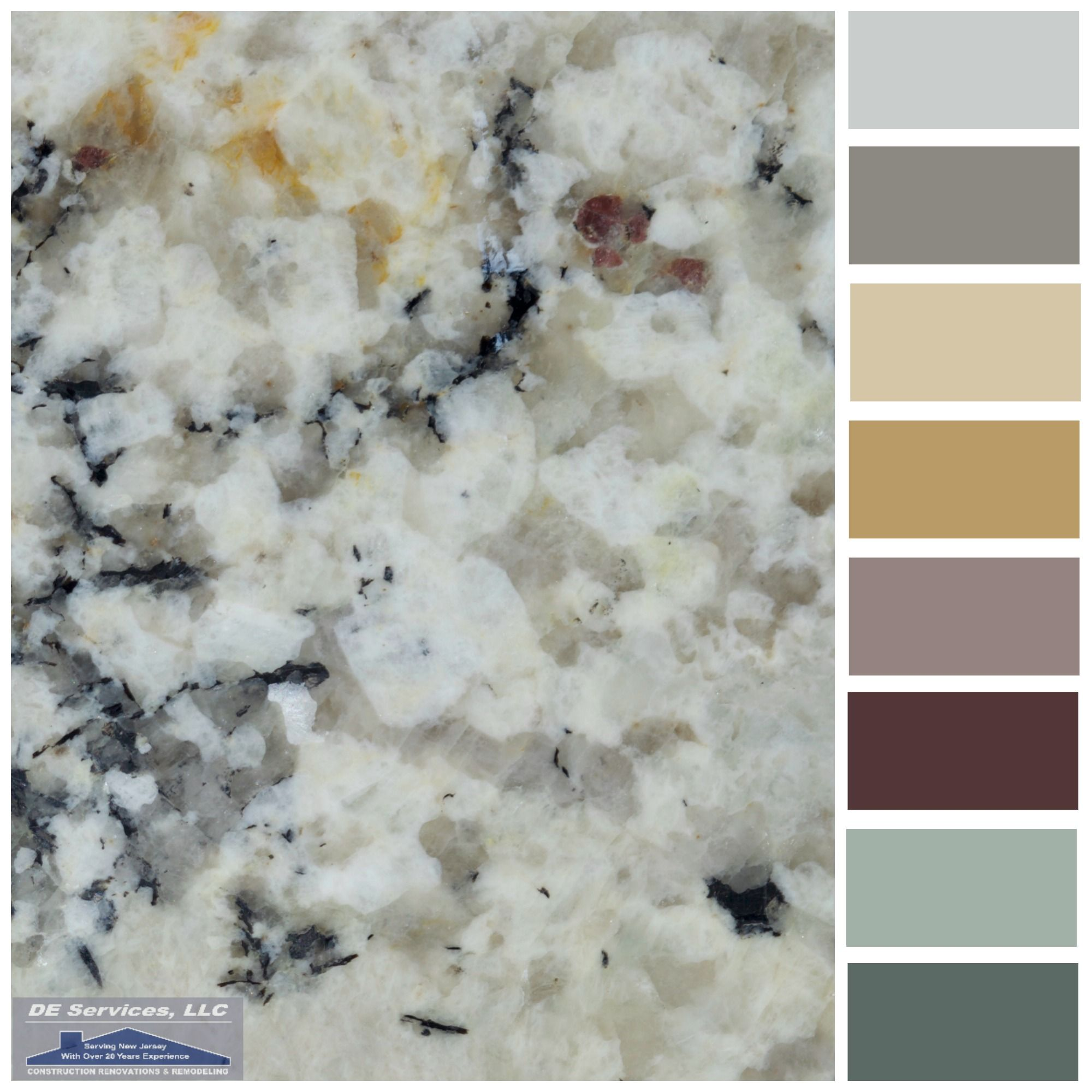Kitchen Countertops Upgrade: Delicatus Cream Granite