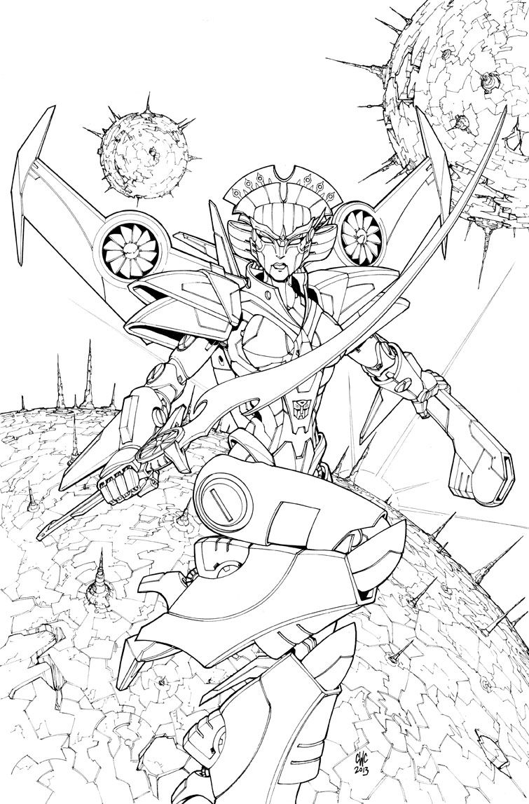 Transformers Windblade 01 Cover By Caliber316 Transformers