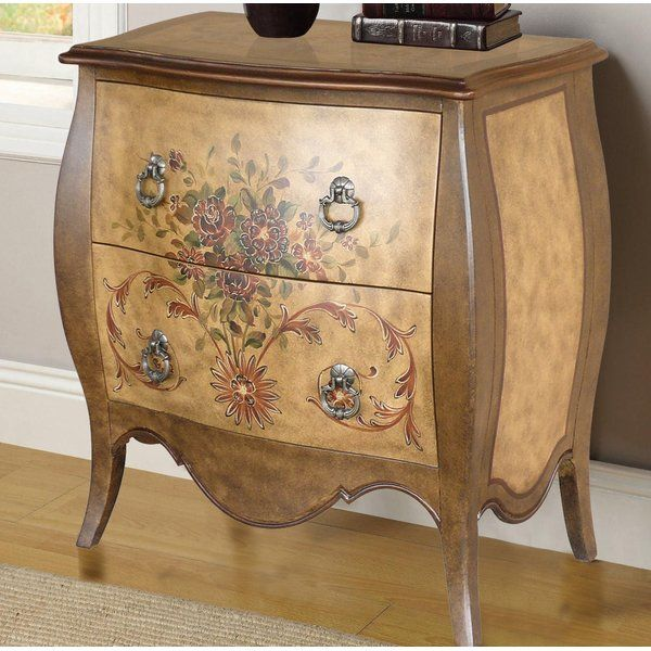 You'll love the Cephas Hand Painted 2 Drawer Accent Chest ...