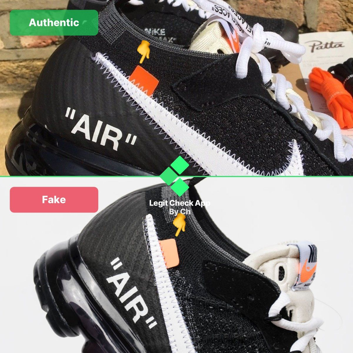 Fake shoes
