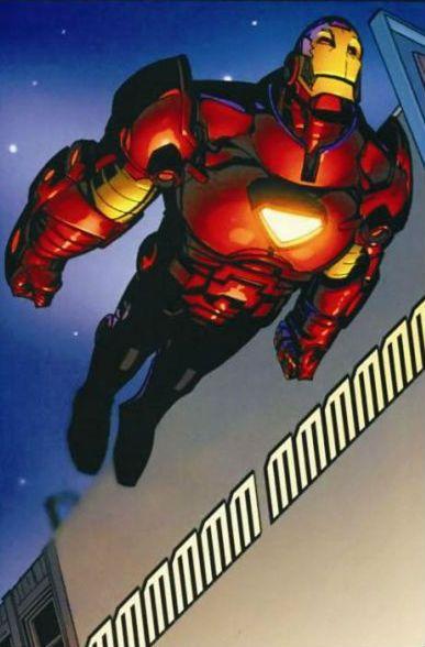 Iron Man by Humberto Ramos