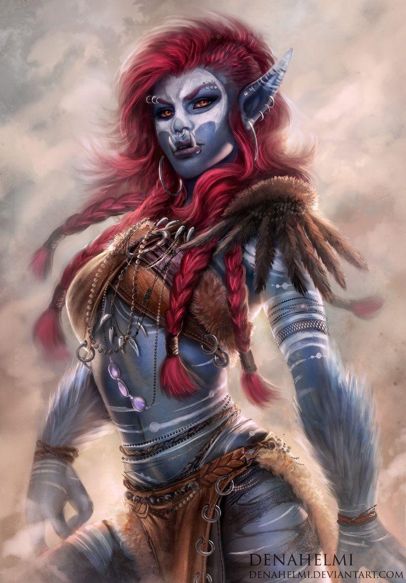 Fantasy Art Females On Deviantart