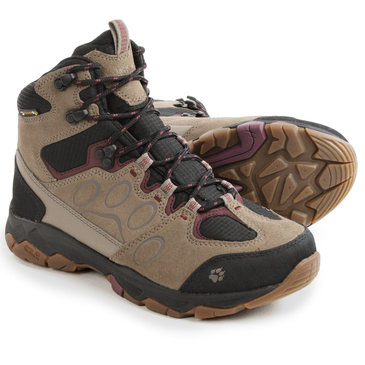 56a5e77fedf Jack Wolfskin MTN Attack 5 Texapore Mid Hiking Boots - Waterproof ...