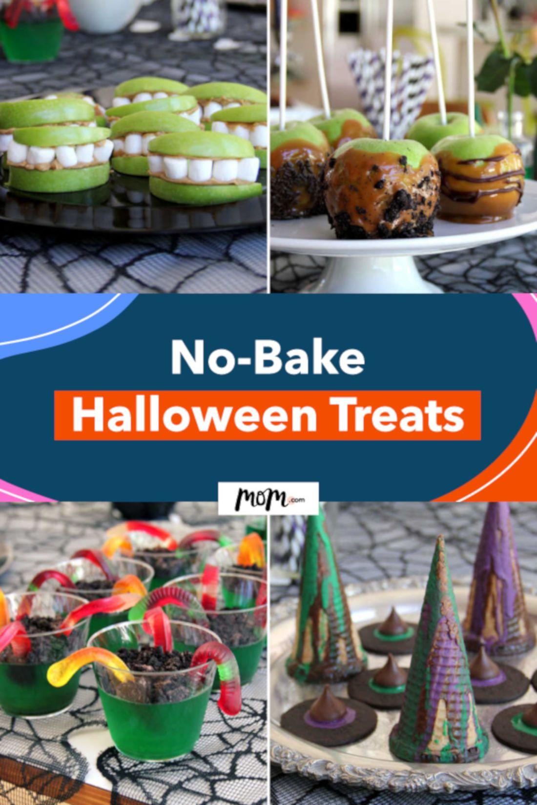 Mom Pin It No Bake Halloween Treats Pin These