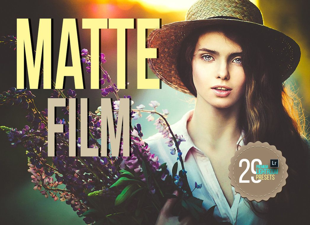 Free Download Matte Film Lightroom Presets by AestheticArtz