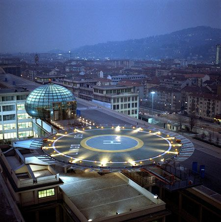 Nh lingotto hotel in turin is a former fiat factory for Hotel design torino
