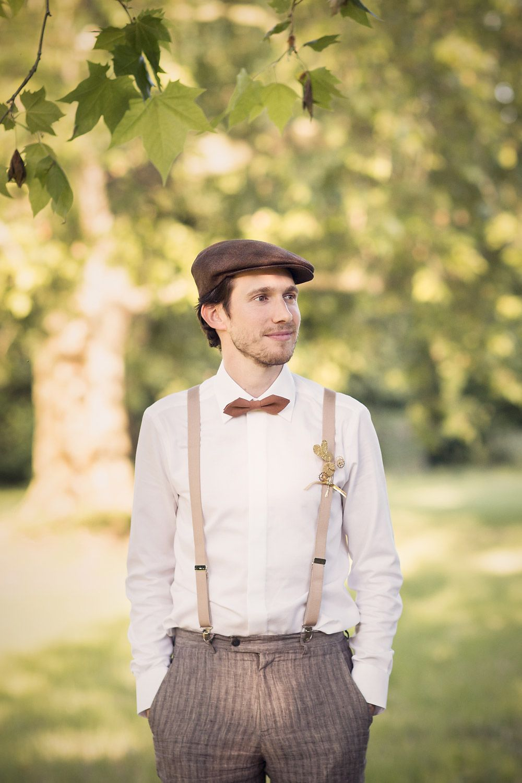 Costume mariage homme boheme