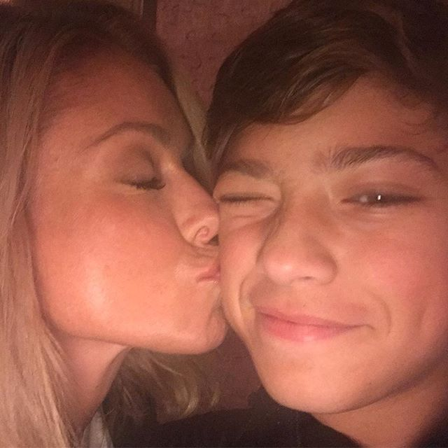 Kelly Ripa Shares a Cute New Photo of Herself With Son Joaquin — See How Grown Up He Looks!