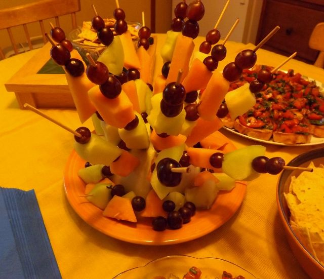 Themed Cocktail Party Ideas Part - 40: Rastafari Fruit Salad For A Caribbean- Themed Cocktail Party - News -  Bubblews
